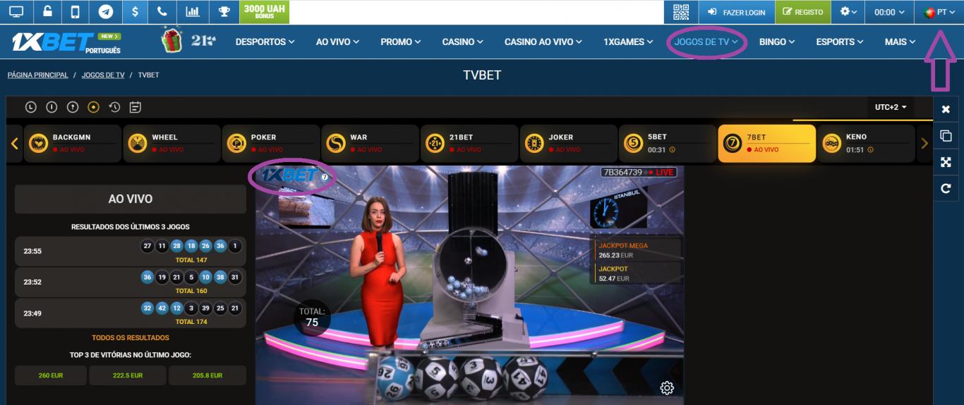 1xBet live stream, um casino de peso para apostar ao vivo